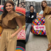 Anushka Sharma in Koashee and Zara for Sui Dhaga-Made in India promotions (Featured)