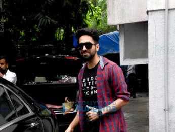 Ayushmann Khurrana snapped in Mumbai