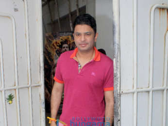 Bhushan Kumar spotted at Sunny Super Sound in Juhu