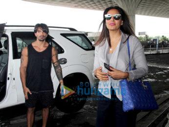 Bipasha Basu, Dia Mirza, Jackie Shroff and others snapped at the airport