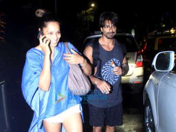 Bipasha Basu & Karan Singh Grover spotted at Sukho Thai Spa in Bandra