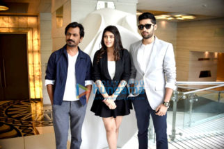 Cast of Genius promote their film in Delhi
