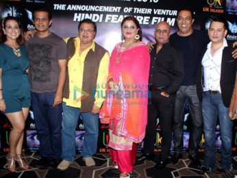 Deepshikha Nagpal, Vindu Dara Singh, Rajesh Puri, Jubin Nautiyal, Rakesh Bedi snapped at Sun and Sand Hotel, Juhu