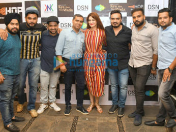 Deepshikha graces the launch of her debut song 'Kya Hua Tera Wada'