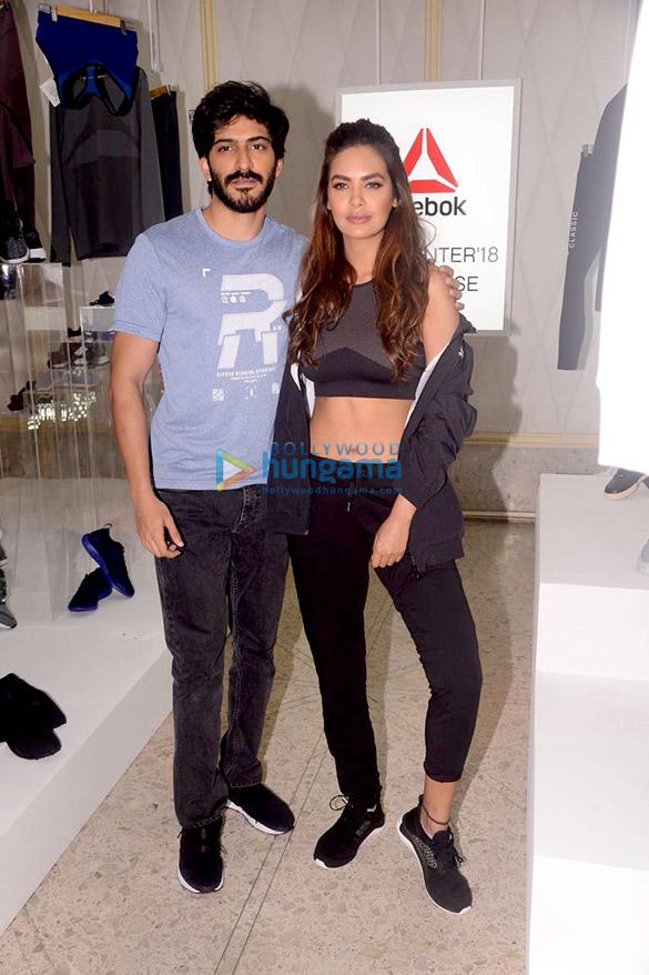 Esha Gupta & Harshvardhan Kapoor grace the Reebok fall winter '18 showcase
