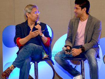 Farhan Akhtar graces the launch of Kool 104, Hyderabad's first international radio station
