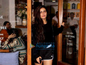 Fatima Sana Shaikh spotted at Sequel Cafe in Bandra