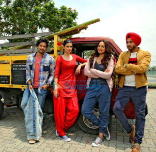 On The Sets Of The Movie Happy Phirr Bhag Jayegi