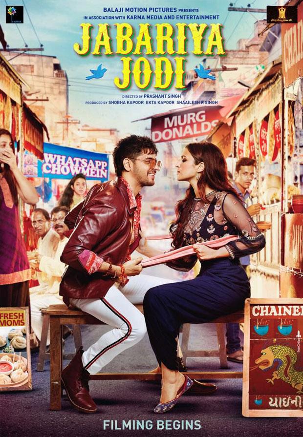 Jabariya Jodi: Sidharth Malhotra and Parineeti Chopra flaunt their quirky and fun avatars from their film