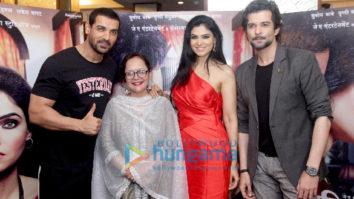 John Abraham snapped promoting his marathi film at Sun N Sand
