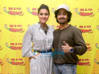 Kajol and Riddhi Sen snapped promoting Helicopter Eela at the 98.3 FM Radio Mirchi