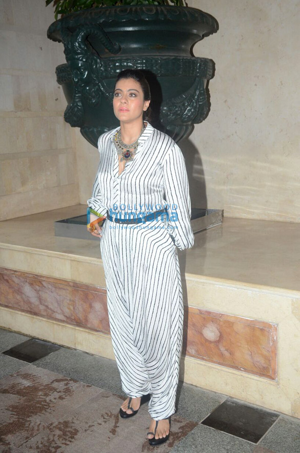 Kajol snapped promoting Helicopter Eela in Bandra