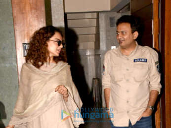 Kangana Ranaut snapped at Kamal Jain's office