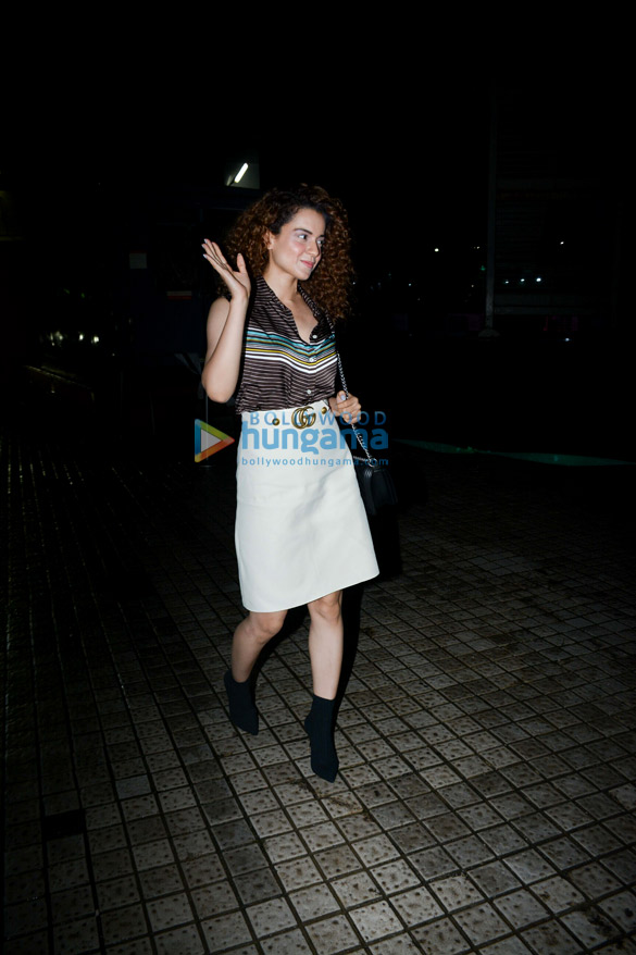 Kangana Ranaut snapped at PVR, Juhu