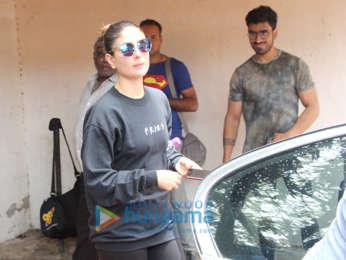 Kareena Kapoor Khan spotted at the gym