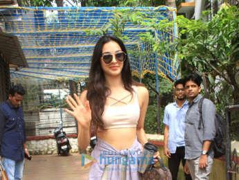 Kiara Advani snapped post dance class