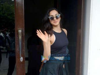 Kiara Advani spotted at Bastian in Bandra