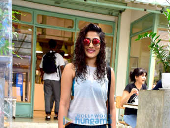 Kiran Rao and Pamela Singh Bhutoria snapped at Kitchen Garden in Bandra