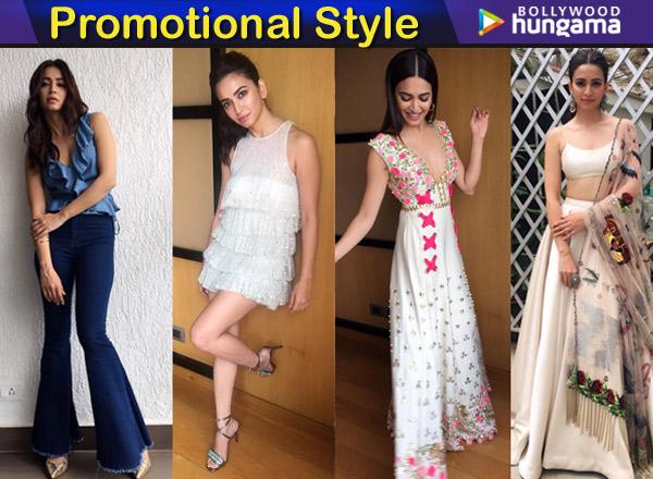 Kriti Kharbanda for Yamla Pagla Deewana Phir Se promotions