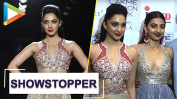 Lakme Fashion Week Kiara Advani & Radhika Apte walk the ramp on DAY 5