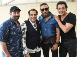 Legendary Jacky Shroff & Dharmendra SPOTTED together during Yamla Pagla Deewana Phir Se promotions