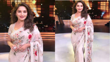 Madhuri Dixit in Tarun Tahiliani for Dance Deewane (Featured)