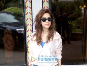 Nushrat Bharucha spotted at Sun and Sand Hotel, Juhu