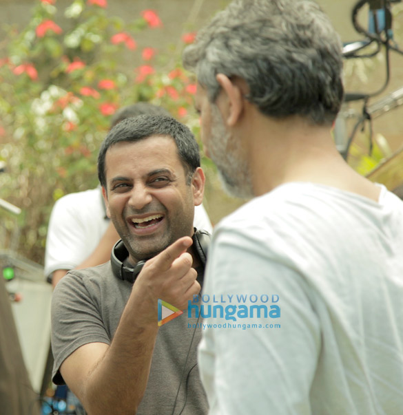 On The Sets Of The Movie Once Again