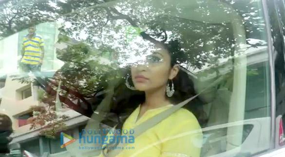 Parineeti Chopra snapped at Priyanka Chopra's house