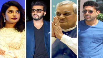 Priyanka Chopra, Arjun Kapoor, Farhan Akhtar and others offer condolences after the demise of former Prime Minister Atal Bihari Vajpayee