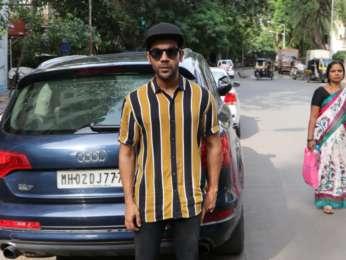 Rajkummar Rao snapped in Juhu