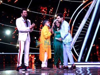 Rajkummar Rao snapped on sets of Indian Idol