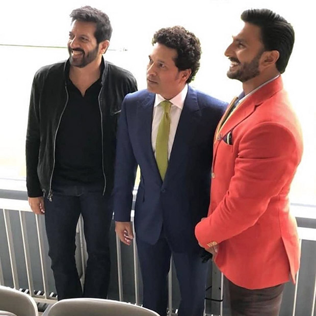 Ranveer Singh begins prep for Kabir Khan's '83 with Master Blaster Sachin Tendulkar at Lord's in London