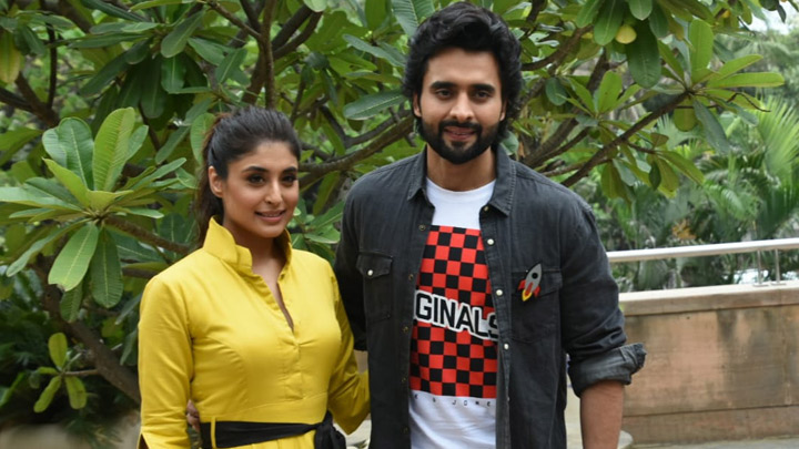 Spotted Jacky Bhagnani Kritika Kamra At Novotel Juhu For Movie Promotions Of Mitron