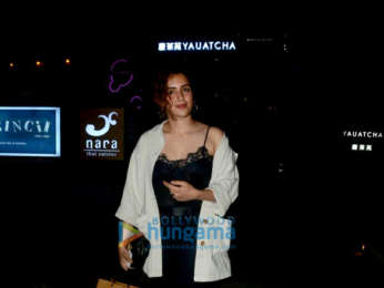 Sanya Malhotra, Fardeen Khan and others snapped at Yauatcha in BKC