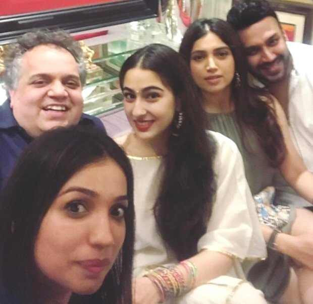 Sara Ali Khan has low key birthday celebrations with Amrita Singh, brother Ibrahim, Bhumi Pednekar and others-
