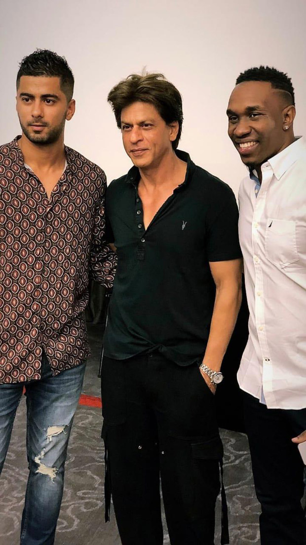 Shah Rukh Khan lands in Trinidad & Tobago to support