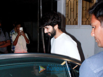Shahid Kapoor and Shraddha Kapoor spotted at Sunny Super Sound in Juhu