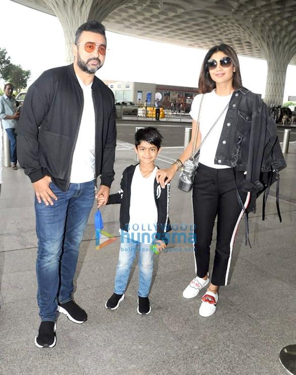 Shilpa Shetty, Raj Kundra, Tripti Dimri & Avinash Tiwari snapped at the airport