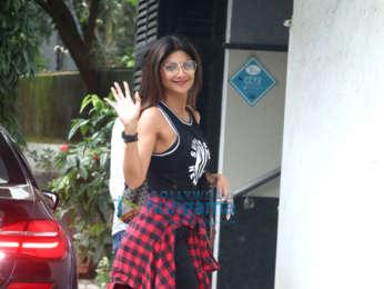 Shilpa Shetty spotted outside a clinic in Bandra