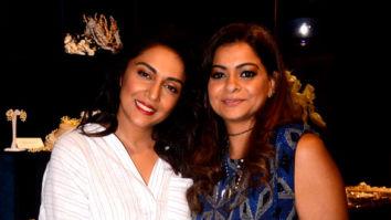 Shweta Salve and Roshni Chopra attend the Bansri pop-up store launch