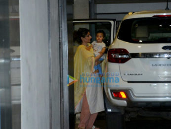 Soha Ali Khan snapped with her daughter Innaya in Bandra