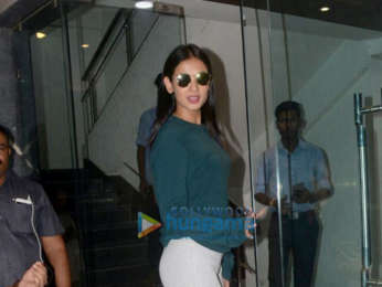 Sonal Chauhan and Sherlyn Chopra spotted in Khar