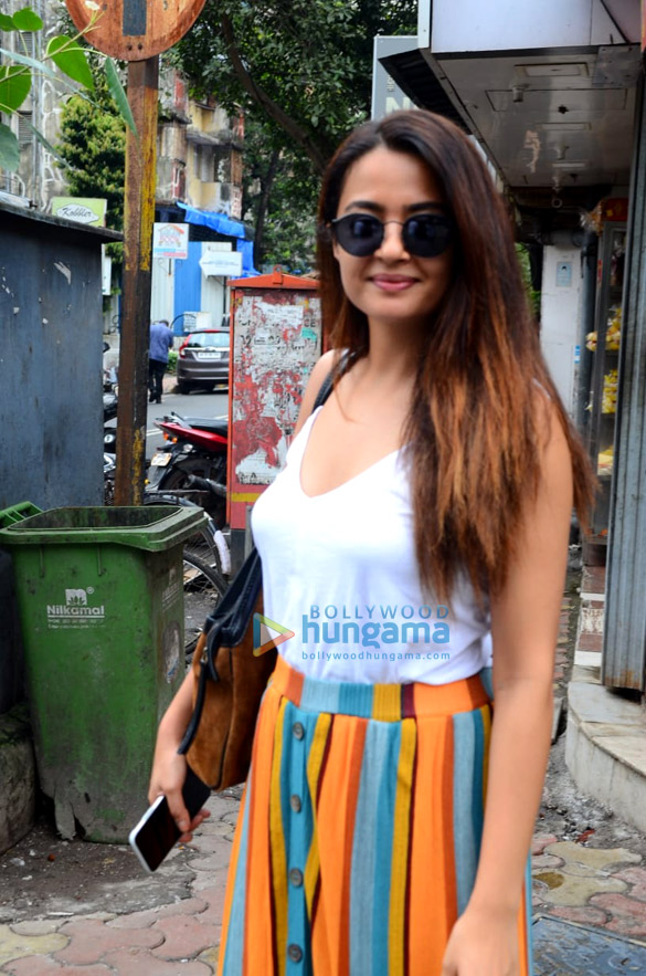 Surveen Chawla spotted at Sequel