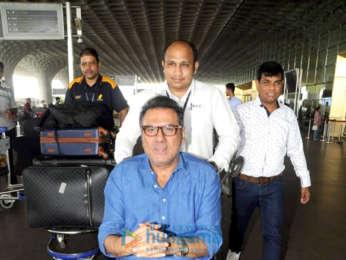 Vaani Kapoor and Boman Irani snapped at the airport
