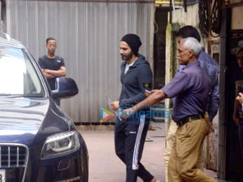 Varun Dhawan snapped in Bandra