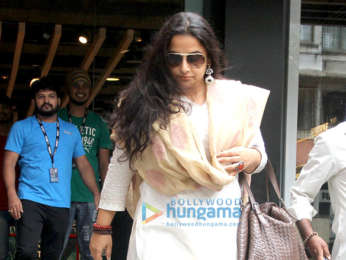 Vidya Balan spotted at the Puma store in Khar
