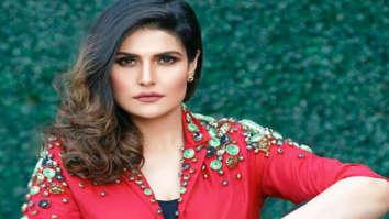 Zareen Khan supports an initiative for public hygiene