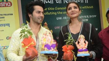 Anushka Sharma and Varun Dhawan are promoting eco-friendly Ganesh Chaturthi celebrations