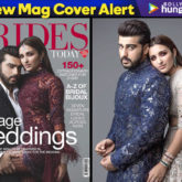 Arjun Kapoor and Parineeti Chopra on Brides Today Cover